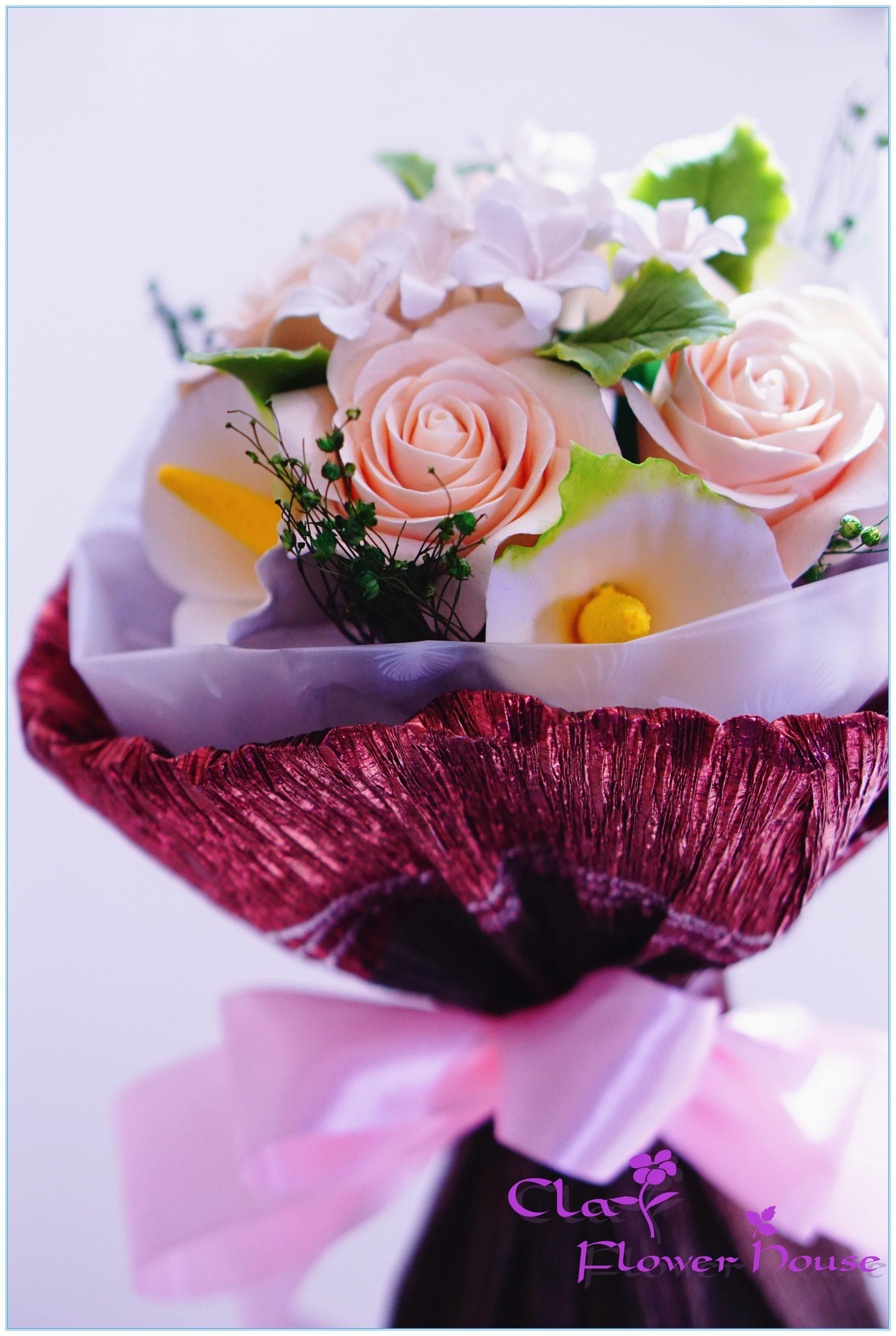 Clay flower bouquet 33 clay flower bouquet 33 izmirmasajfo